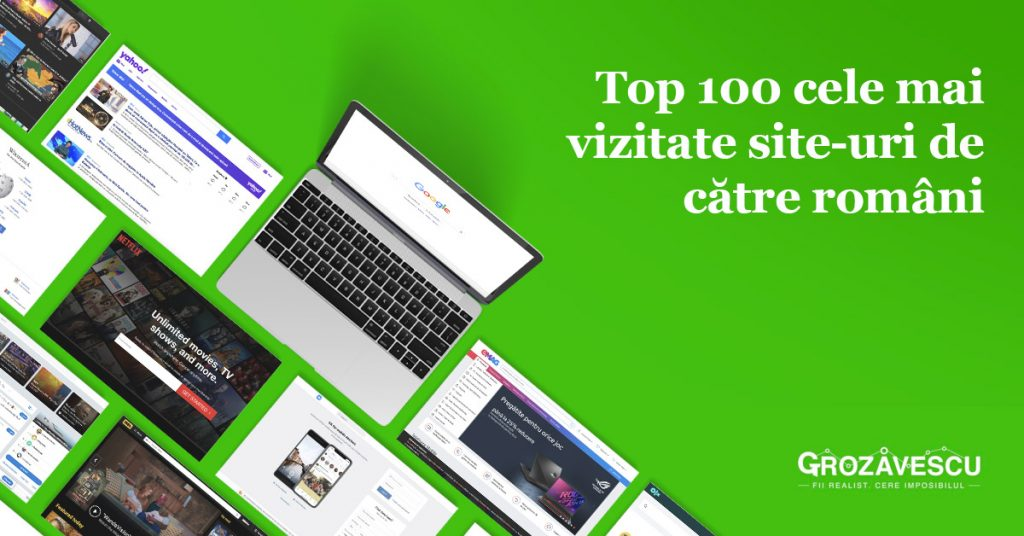 TOP 100 siteuri Romania